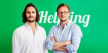 Helpling Gründer Benedikt Franke und Philip Huffmann